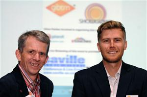 Paul Cook and Josh Dry, co-organisers of GIBTM's Event Camp Middle East 2013 (#ECME13)